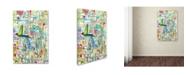 "Trademark Global Sylvie Demers 'Faire Surface' Canvas Art - 19"" x 12"" x 2"""