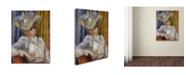 "Trademark Global Renoir 'Woman With A Hat' Canvas Art - 24"" x 18"" x 2"""