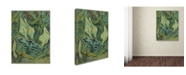"Trademark Global Van Gogh 'Emperor Moth' Canvas Art - 19"" x 14"" x 2"""