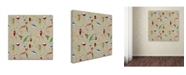 "Trademark Global Jean Plout 'Wilderness Lodge J' Canvas Art - 14"" x 14"" x 2"""