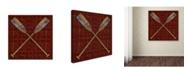 "Trademark Global Jean Plout 'Wilderness Lodge 3' Canvas Art - 24"" x 24"" x 2"""