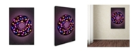 "Trademark Innovations Octavian Mielu 'Donut' Canvas Art - 32"" x 22"" x 2"""