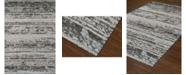 """D Style Alanna Ala4 Silver 3'3"""" x 5'1"""" Area Rug"""