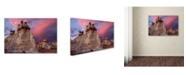 "Trademark Global Mike Jones Photo 'Blue Canyon Dusk' Canvas Art - 24"" x 16"" x 2"""