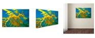 "Trademark Global Mike Jones Photo 'Sea Dragon' Canvas Art - 24"" x 16"" x 2"""
