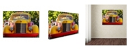 "Trademark Global Mike Jones Photo 'Gold King Mine Yellow Truck' Canvas Art - 47"" x 35"" x 2"""