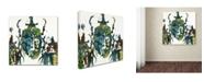 "Trademark Global Wyanne 'Imaginary Bug Series Rhino Beetle' Canvas Art - 18"" x 18"" x 2"""