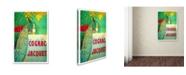 "Trademark Global Vintage Lavoie 'Ad 30' Canvas Art - 19"" x 12"" x 2"""