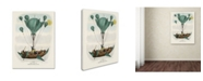 "Trademark Global Vintage Lavoie 'Diligenza Per La Luna 1836' Canvas Art - 47"" x 35"" x 2"""