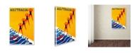 "Trademark Global Vintage Lavoie 'Travel 51' Canvas Art - 47"" x 30"" x 2"""