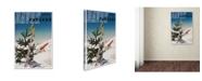 "Trademark Global Vintage Lavoie 'Travel 305' Canvas Art - 47"" x 30"" x 2"""
