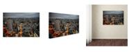 "Trademark Global Robert Harding Picture Library 'Dark Skies' Canvas Art - 32"" x 22"" x 2"""