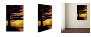 """Trademark Global Robert Harding Picture Library 'Silhouette' Canvas Art - 32"""" x 22"""" x 2"""""""