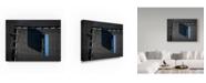 "Trademark Global Moises Levy 'Blue Boxes Photography' Canvas Art - 32"" x 24"" x 2"""