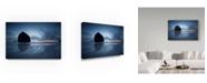 "Trademark Global Moises Levy 'Haystack Rock Dawn' Canvas Art - 47"" x 30"" x 2"""