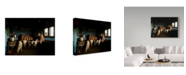 "Trademark Global Mihnea Turcu 'Inside His House' Canvas Art - 47"" x 2"" x 35"""