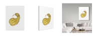 "Trademark Global Jessmessin 'Long Gourd' Canvas Art - 24"" x 18"" x 2"""
