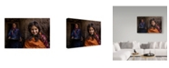 """Trademark Global Mohammadreza Momeni 'Happy Morning' Canvas Art - 24"""" x 2"""" x 16"""""""