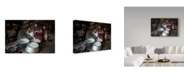 "Trademark Global Mohammadreza Momeni 'Open Kitchen' Canvas Art - 47"" x 2"" x 30"""