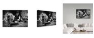 "Trademark Global Mohammadreza Momeni 'Last Texture' Canvas Art - 24"" x 2"" x 16"""