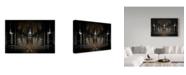 "Trademark Global Michiel Hageman 'The Abyss Trains' Canvas Art - 32"" x 2"" x 22"""