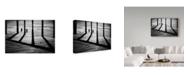 "Trademark Innovations Paulo Abrantes 'The Add Dimension' Canvas Art - 32"" x 2"" x 22"""