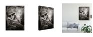"Trademark Global Montse Argerich 'Go To Nirvana' Canvas Art - 24"" x 2"" x 32"""