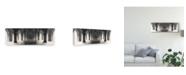 "Trademark Global Jeff Spivak 'Figure In Space' Canvas Art - 47"" x 2"" x 16"""
