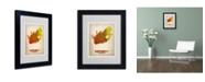 "Trademark Global Naxart 'South Africa Watercolor Map' Matted Framed Art - 14"" x 11"" x 0.5"""