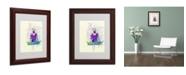 "Trademark Global Naxart 'Meditating Mind' Matted Framed Art - 11"" x 14"" x 0.5"""