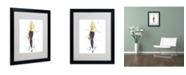 "Trademark Global Jennifer Lilya 'Honey Mustard' Matted Framed Art - 20"" x 16"" x 0.5"""