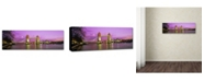 "Trademark Global John Xiong 'London Bridge' Canvas Art - 19"" x 6"" x 2"""