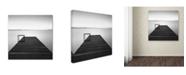 """Trademark Global Moises Levy 'Cube' Canvas Art - 35"""" x 35"""" x 2"""""""
