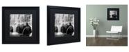"""Trademark Global Moises Levy 'Velo de Novia' Matted Framed Art - 16"""" x 16"""" x 0.5"""""""