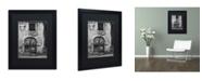 "Trademark Global Moises Levy 'San Gimignano Door' Matted Framed Art - 16"" x 20"" x 0.5"""