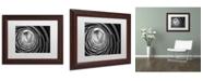 "Trademark Global Moises Levy 'Pozo' Matted Framed Art - 14"" x 11"" x 0.5"""