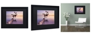 """Trademark Global Moises Levy 'Water Tree XI' Matted Framed Art - 16"""" x 20"""" x 0.5"""""""
