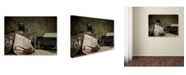 "Trademark Global Nick Walton 'Jonnie Walker War Correspondent' Canvas Art - 32"" x 24"" x 2"""