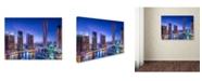 "Trademark Global Vinaya Mohan 'Dubai Marina' Canvas Art - 24"" x 18"" x 2"""