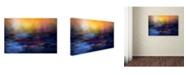 "Trademark Global Willy Marthinussen 'Inner Peace' Canvas Art - 24"" x 16"" x 2"""