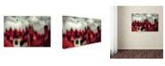 "Trademark Global Samanta 'Love Story' Canvas Art - 19"" x 12"" x 2"""