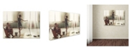 "Trademark Global David Dubnitskiy 'Cleaning Day' Canvas Art - 24"" x 18"" x 2"""