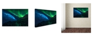 "Trademark Global Jesus M Garcia 'Athabasca Cave' Canvas Art - 24"" x 16"" x 2"""