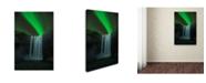 "Trademark Global Jingshu Zhu 'Skogafoss' Canvas Art - 47"" x 30"" x 2"""