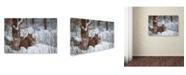 "Trademark Global Igor Rossetto '3Free' Canvas Art - 19"" x 12"" x 2"""