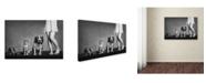 """Trademark Global Monique 'Family Portrait' Canvas Art - 47"""" x 30"""" x 2"""""""