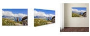 "Trademark Global Mircea Costina 'The King Of Mont Blanc' Canvas Art - 32"" x 22"" x 2"""
