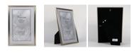 "Lawrence Frames Antique Brass Picture Frame - Bead Border Design - 8"" x 12"""