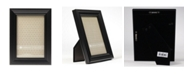 """Lawrence Frames Classic Detailed Black Picture Frame - 4"""" x 6"""""""