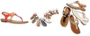Michael Kors MK Plate Flat Thong Sandals